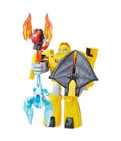 Figura-Playskol-Heroes---Transformers-Rescue-Bots---Bumblebee-Cavaleiro-Vigilante---Hasbro