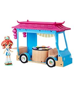 Playset-My-Little-Pony---25-cm---Equestria-Girls---Food-Truck-de-Sushi---Sunset-Shimmer---Hasbro