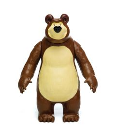 Figura-de-Vinil-20-Cm---Masha-e-o-Urso---Urso---Estrela