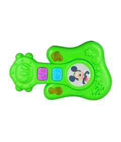 Instrumentos---Bebe-Musical---Personagens-Disney---Guitarra-Verde---Dican