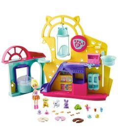 Playset-com-Boneca-e-Acessorios---Polly-Pocket---Polly-Cafe-dos-Bichinhos---Mattel