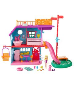 Playset-com-Boneca-e-Acessorios---Polly-Pocket---Polly-Casa-de-Ferias---Mattel