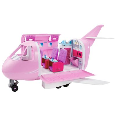 Playset-e-Acessorios-Barbie---Aviao-de-Luxo---Mattel