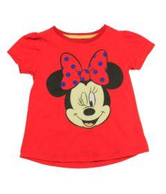 Blusa-Manga-Curta-em-Meia-Malha---Vermelho---Be-Minnie---Disney---1