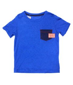 Camiseta-Manga-curta-em-Botone---Azul-Royal-e-Marinho---Be-Mickey---Disney---1