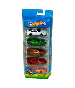 Carrinhos-Hot-Wheels---Pacote-com-5-Carros---HW-Exotics---Mattel