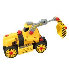 Conjunto-de-Montagem---Meu-Pequeno-Engenheiro---Garagem-SA---Veiculo-de-Construcao---Retroescavadeira---Candide