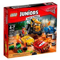 LEGO-Juniors---Disney---Pixar---Carros-3---Smokey-Garage---10744