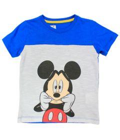 Camiseta-Manga-Curta-em-Meia-Malha-Flame---Branco-e-Azul---Be-Mickey---Disney---1