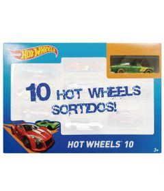 Carrinhos-Hot-Wheels---Pacote-com-10-Carros---O---Mattel