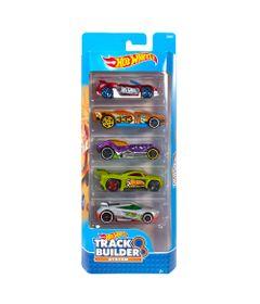 Carrinhos-Hot-Wheels---Pacote-com-5-Carros---Track-Builder-System-2017---Mattel