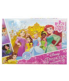 Quebra-Cabeca---Princesas-Disney---Princesas-Adoraveis---60-Pecas---Grow