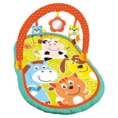 Tapete com Arco de Atividades Baby - Animais - Buba
