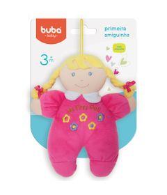 Boneca-de-Pano---24-cm---Primeira-Amiguinha---Pink---Buba