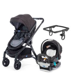 Travel-System-com-Adaptador---Urban-Plus-Keyfit-Night-e-Color-Pack-Plus---Anthracite---Chicco