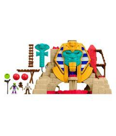 Playset-Imaginext---Aventura-no-Deserto---Piramide-da-Serpente---Fisher-Price