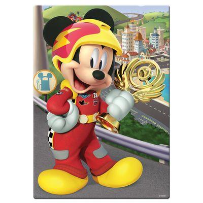 quebra-cabeca-200-pecas-mickey-aventuras-sobre-rodas-disney-toyster