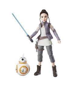 Figura-Articulada---30-Cm-e-Robo---Disney---Star-Wars---Star-Wars-Forces-of-Destiny---Rey-e-BB-8---Hasbro