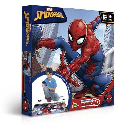 quebra-cabeca-grandao-120-pecas-disney-marvel-spider-man-toyster