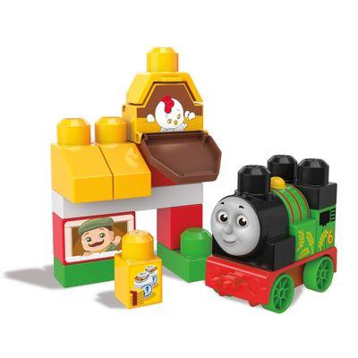 Blocos de Montar - Mega Bloks - Thomas & Friends - Percy na Farmácia - Fisher-Price