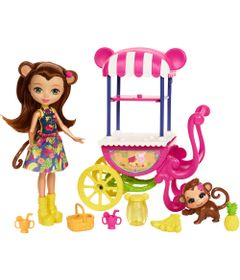 Boneca-Fashion-e-Veiculo---Enchantimals---Merit-Monkey---Mattel