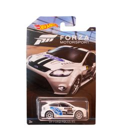 Carrinho-Die-Cast---1-64---Hot-Wheels---Forza-Motorsport---2009-Ford-Focus---Mattel