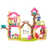 Playset-e-Boneca-Fashion---Enchantimals---Prue-Panda---Mattel