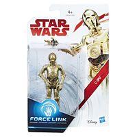 Figura-Articulada---18-Cm---Force-Link---Colecao-2---Disney---Star-Wars---Episodio-VIII---C3PO