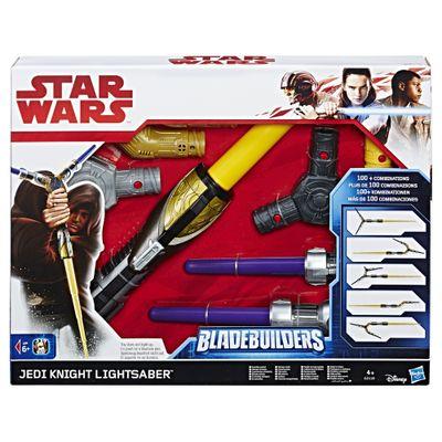 Sabre de Luz Eletrônico - Disney - Star Wars - Episódio VIII - Jedi Knight - Hasbro