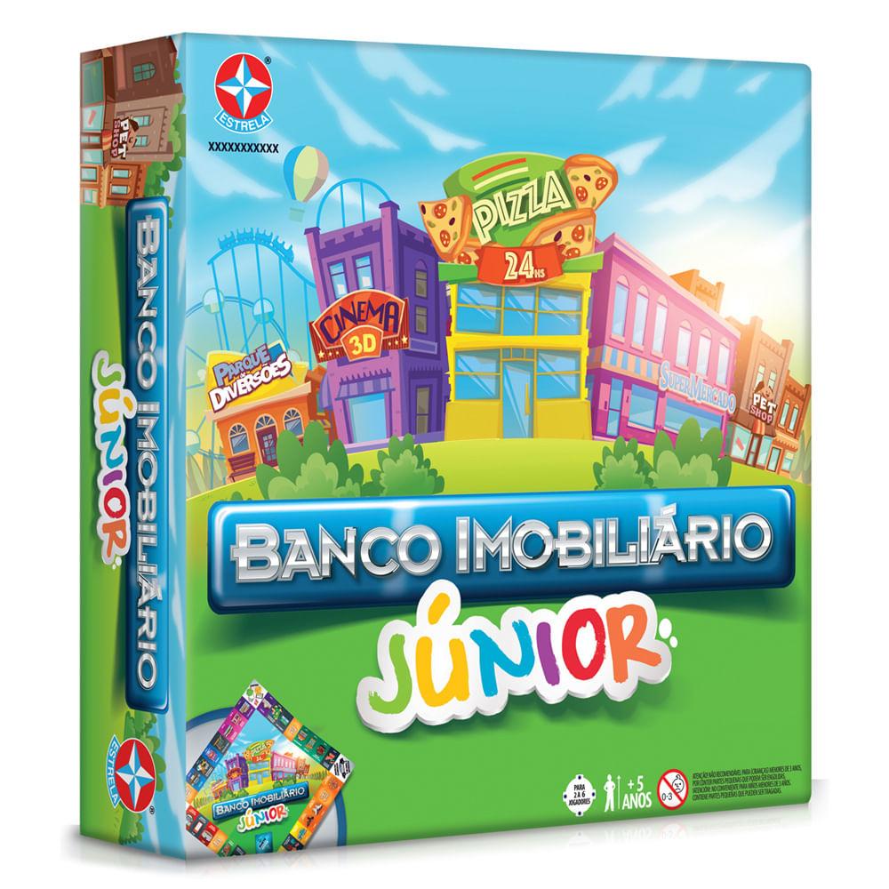 Jogo Banco Imobiliário Júnior 2017 - Estrela