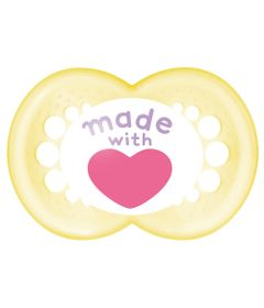 Chupeta-Limited-Edition---Fase-2---Made-With-Love---Amarelo---MAM