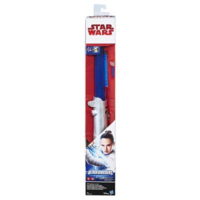 Sabre de Luz Eletrônico - Disney - Star Wars - Episódio VIII - Rey - Hasbro