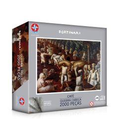 Quebra-Cabeca---2000-Pecas---Candido-Portinari---Cafe---Estrela