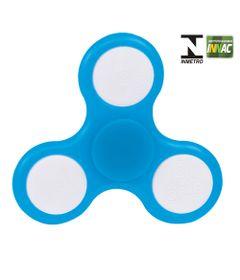 Hand-Spinner-Anti-Stress-Certificado---Fidget-Spinner-Giraluz---Azul-Claro---DTC