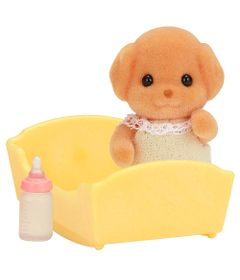 Sylvanian-Families---Familia-Poodle-Toy---Baby-Poodle-Toy---Epoch