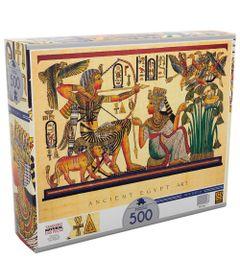 Quebra-Cabeca---500-Pecas---Arte-Egipcia---Grow