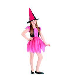 Fantasia-de-Halloween-Infantil---Bruxa-Encantada---Basica---Sulamericana---G