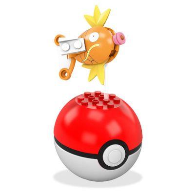 Bloco de Montar - Mega Construx - Pokémon - Pokebola - Magikarp - Mattel
