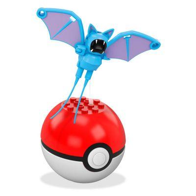 Bloco de Montar - Mega Construx - Pokémon - Pokebola - Zubat - Mattel