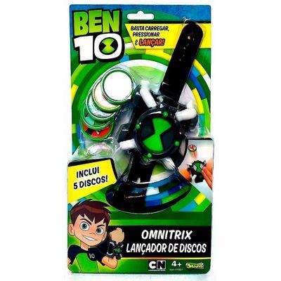 Lançador de Discos - Ben 10 - Omnitrix - Sunny