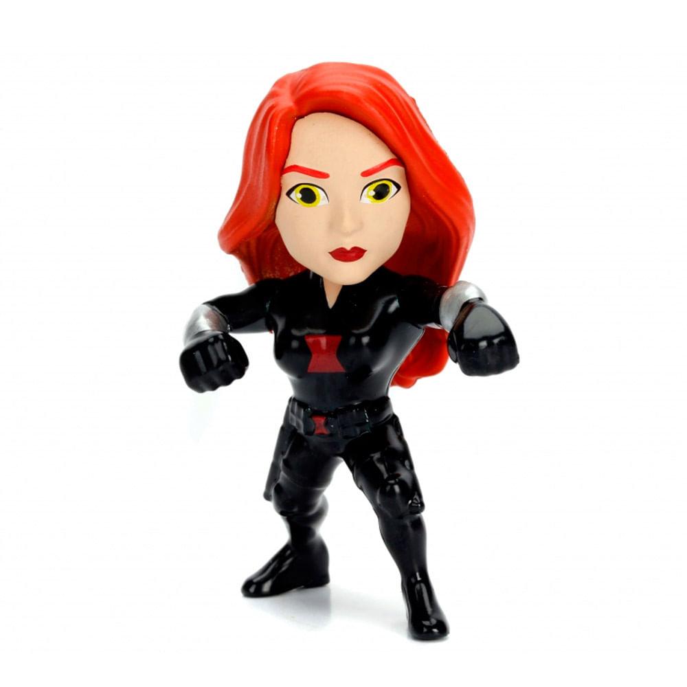 Figura Colecionável 6 Cm - Metals Die Cast - Disney - Marvel Avengers - Viúva Negra - DTC