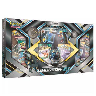 Jogo Pokémon - Coleção Premium - Umbreon-GX - Copag