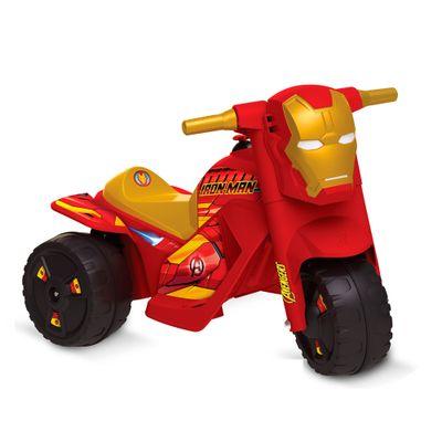 Moto Elétrica - 6V - Disney - Marvel - Iron Man - Bandeirante