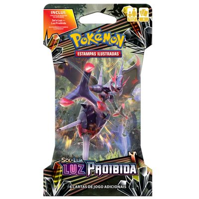 Deck Pokémon - Blister Unitário - Luz Proibida - Necrozma-GX - Copag