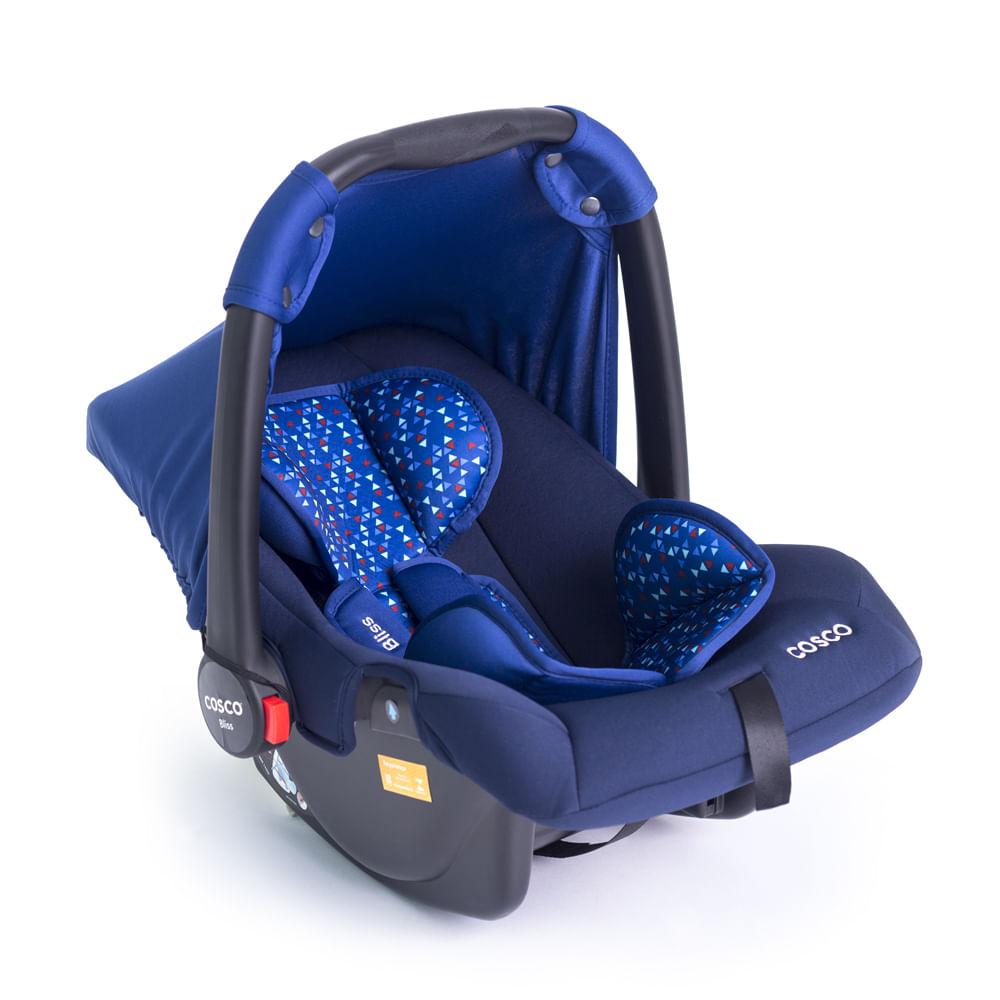 Bebê Conforto - De 0 a 13 Kg - Bliss - Azul - Cosco