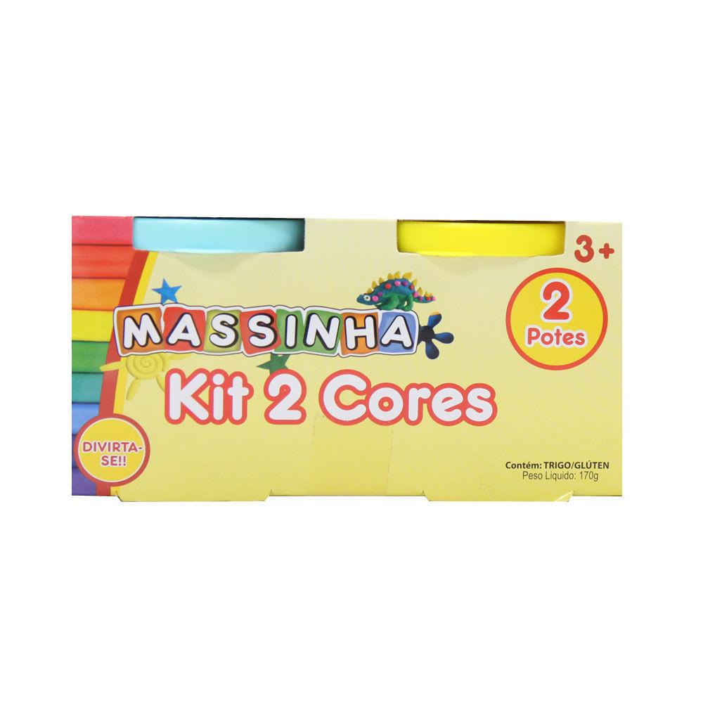 Massa de Modelar - Kit 2 Cores - FanFun