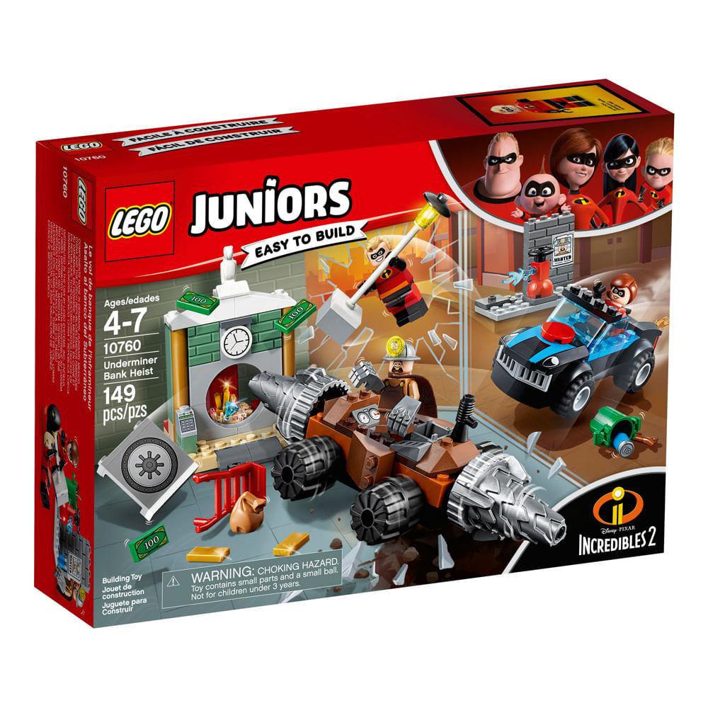 LEGO Juniors - Os Incríveis 2 - Homem Mina Assalto ao Banco - 10760