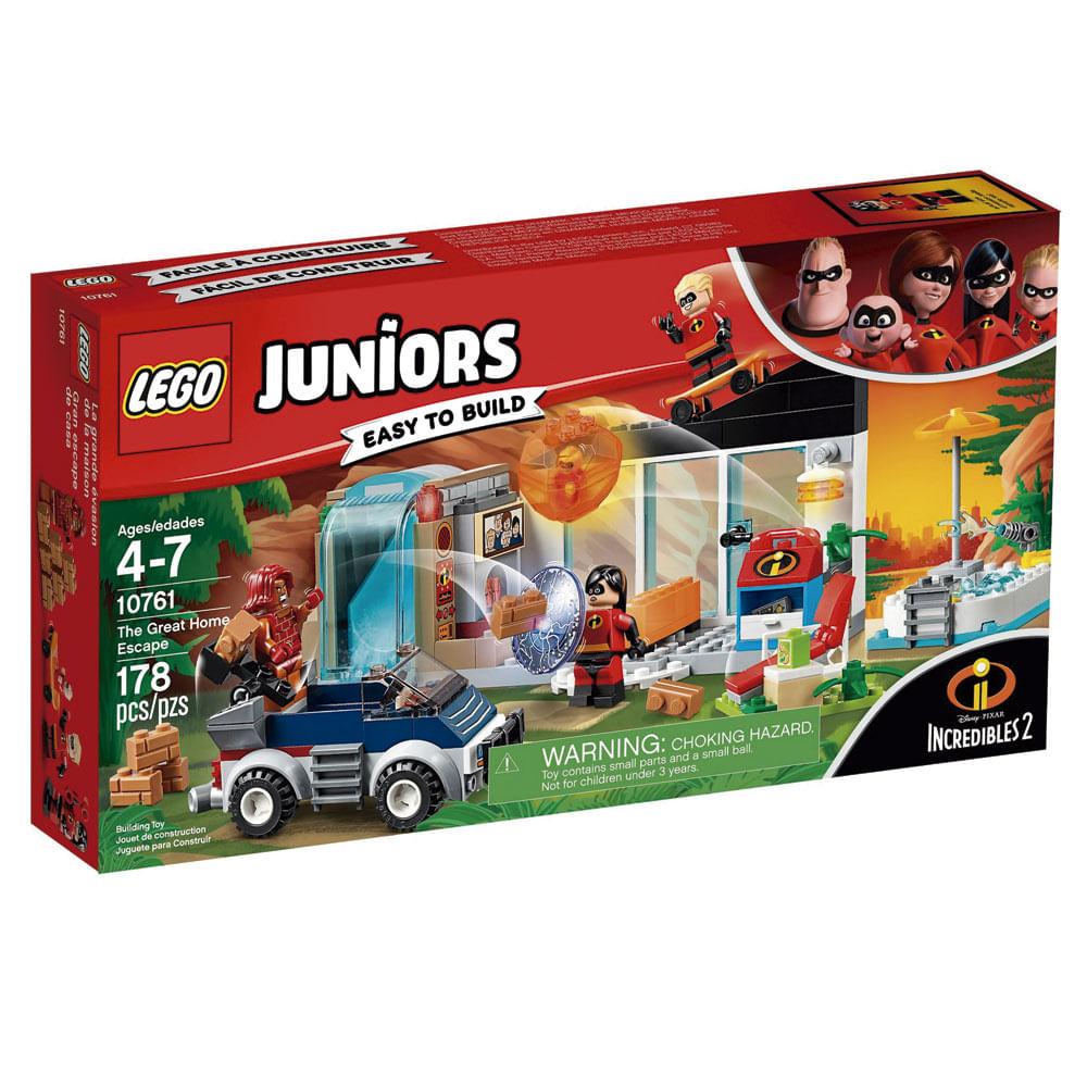 LEGO Juniors - Disney - Os Incríveis 2 - Fuga da Casa - 10761