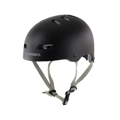 Capacete - Kryptonics - Step Up - Preto - Froes - P/M