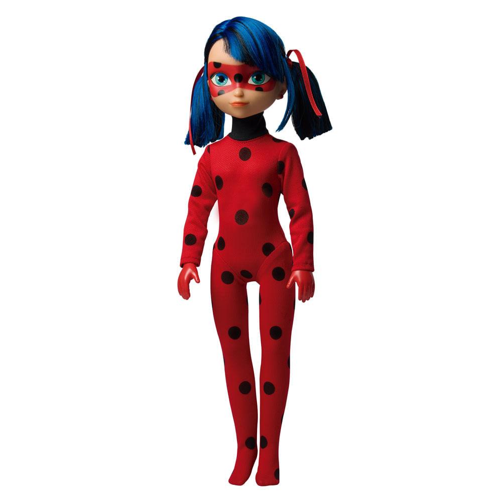Boneca 45 Cm - Miraculous Ladybug - Ladybug Musical - Novabrink